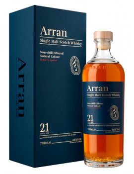 Виски ARRAN 21 years 46% OF 0,7л