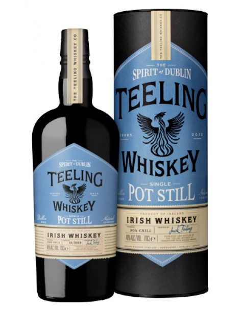 Виски TEELING Single Pot Still Irish Whiskey 46% OF 0,7л п/уп (туба)