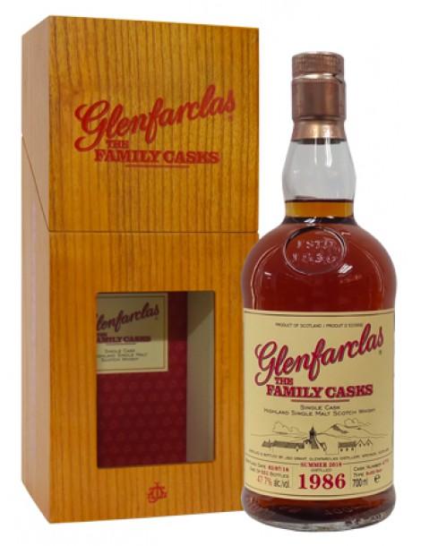 Виски GLENFARCLAS 1986 Family Casks 47,7% 0,7л