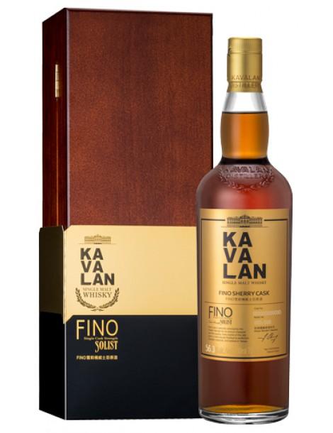Виски KAVALAN Solist Fino Sherry Cask Single Cask Strength 56,3% OF 0,7л