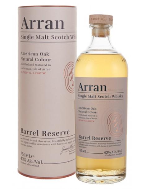 Виски ARRAN Barrel Reserve 43% 0,7л п/уп (туба)