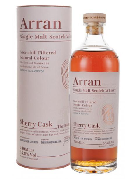 Виски ARRAN Sherry Cask 55,8% OF 0,7л