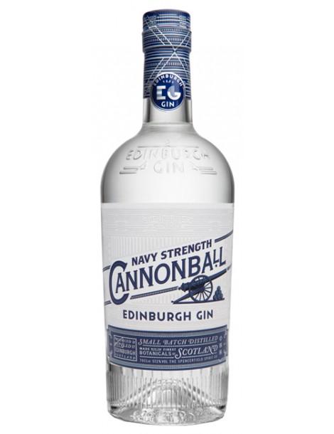 Джин Edinburgh Gin Cannonball Navy Strength 0,7 57,2%
