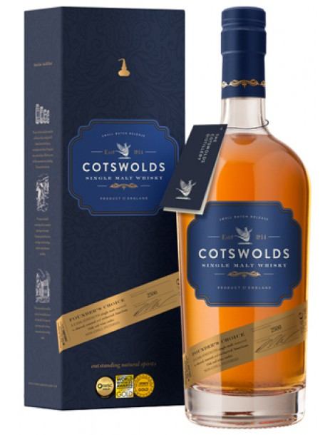 Виски COTSWOLDS Founder's Choice 60,5% OF 0,7л
