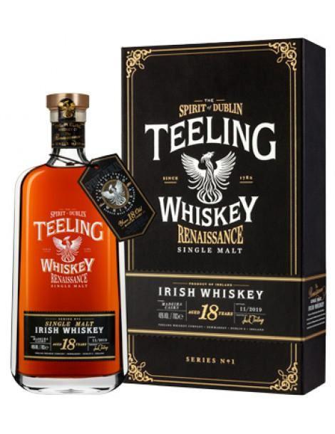 Виски Teeling Single Malt Irish Whiskey Renaissance Series 18 years (Madeira)  OF 46% 0,7 л
