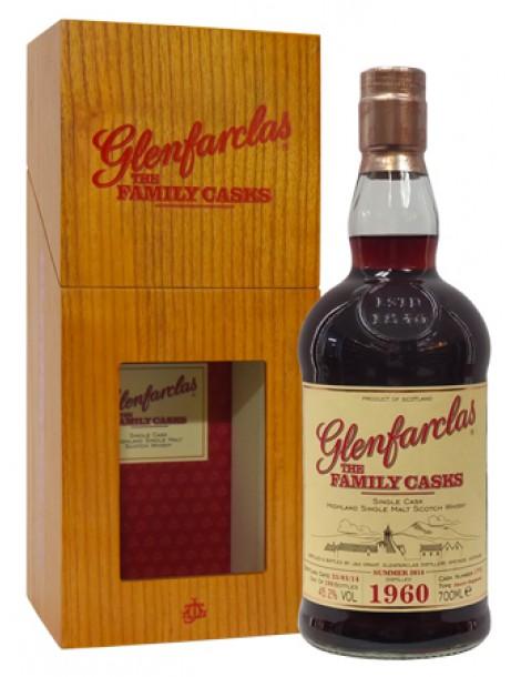 Виски GLENFARCLAS 1960 Family Casks 45,2 % 0,7л