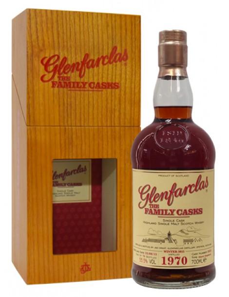 Виски Glenfarclas Family Casks 1970 0,7 55,5%