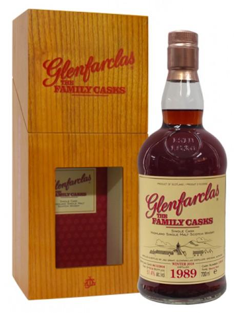 Виски Glenfarclas Family Casks 1989 0,7 51,4%