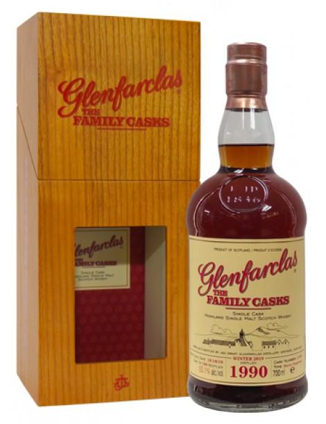 Виски Glenfarclas Family Casks 1990 0,7 53,1%