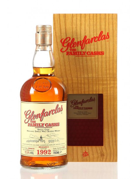 Виски Glenfarclas Family Casks 1992 0,7 53,5%