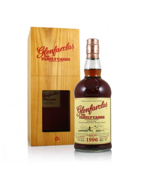 Виски GLENFARCLAS 1996 Family Casks 58,9% 0,7л