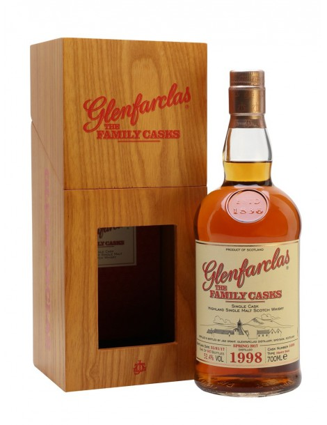 Виски GLENFARCLAS 1998 Family Casks 54,5% 0,7л