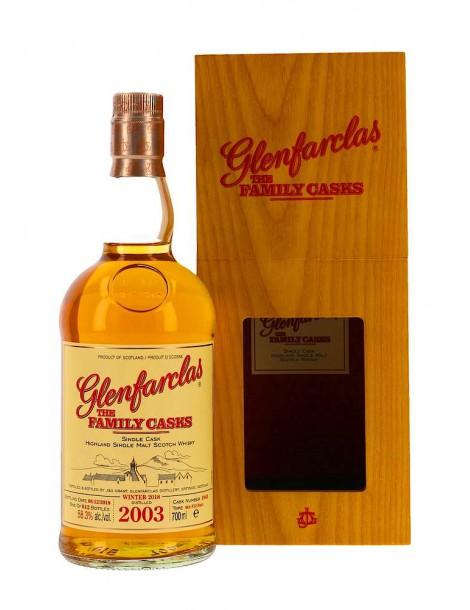Виски GLENFARCLAS 2003 Family Casks 58.3% 0,7л