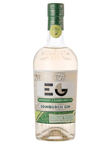 Джин Edinburgh Gin Gooseberry & Elderflower 40% 0,7 л
