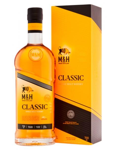 Виски M & H Classic 46% OF 0,7л