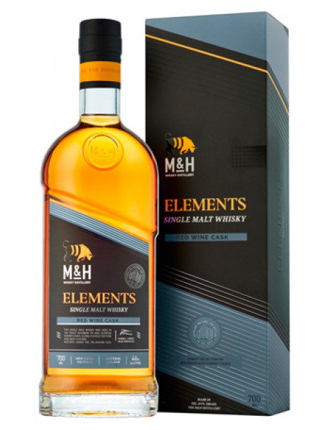 Виски M & H Elements Red Wine 46% OF 0,7л