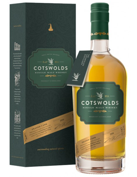 Виски COTSWOLDS Peated Cask 60,2% OF 0,7л