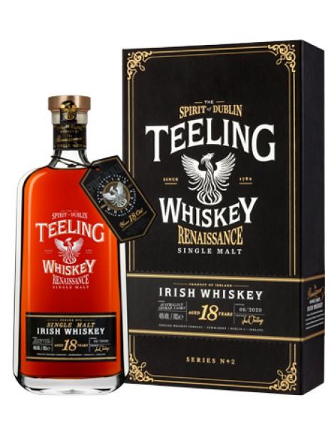 Виски Teeling Single Malt Irish Whiskey Renaissance Series 18 years (Shiraz)  OF 46% 0,7 л