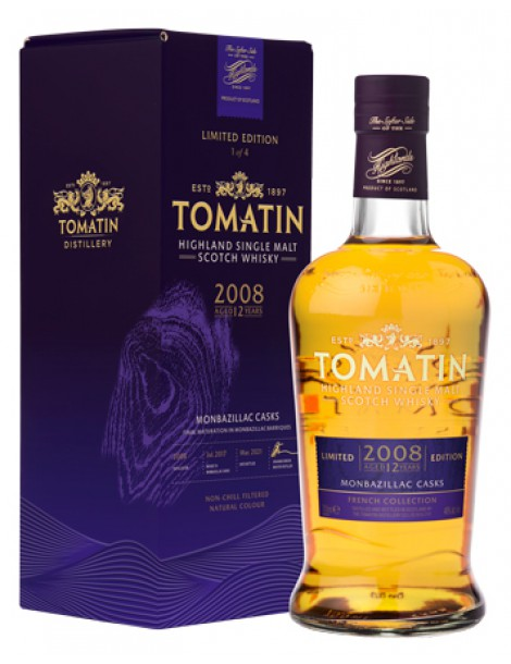 Виски Tomatin French Collection #1 Monbazillac Casks 46% OF 0,7л gift box