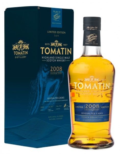 Виски Tomatin French Collection #3 Rivesaltes Casks 46% OF 0,7л gift box
