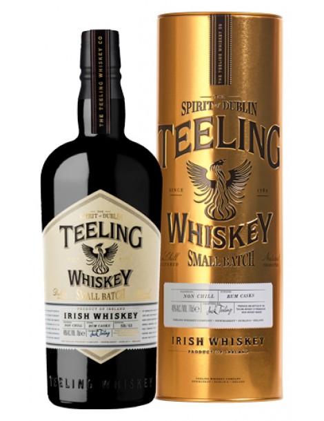 Teeling Irish Whiskey Blend 46% OF 0,7л п/уп (золотая туба)