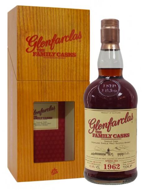 Виски Glenfarclas 1962 Family Casks 43,4% 0,7л