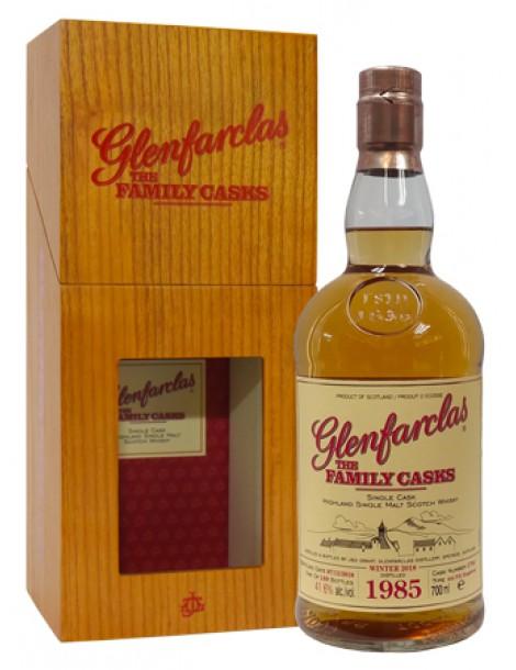 Виски Glenfarclas 1985 Family Casks 41.6% 0,7л