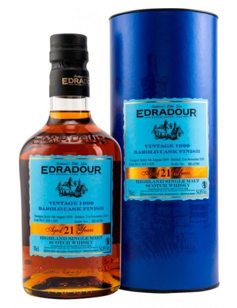 Виски Edradour Barolo Cask Finish 1999 54,8% OF 0,7л