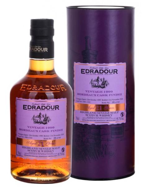 Виски Edradour Bordeaux Cask Finish 1999 55.7% OF 0,7л