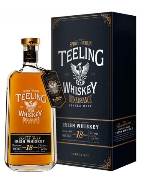 Виски Teeling Single Malt Irish Whiskey Renaissance Series 18 years Ex-Muscat  OF 46% 0,7 л